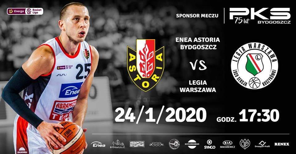 Enea Astoria Bydgoszcz - Legia Warszawa