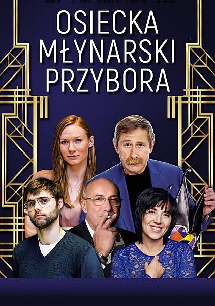ODWOŁANE Koncert Osiecka, Młynarski, Przybora - P. Machalica, Z. Zamachowski, H.Śleszyńska, M. Januszkiewicz i inni