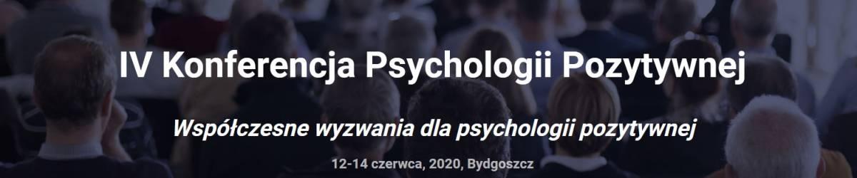 ODWOŁANE IV Konferencja Psychologii Pozytywnej