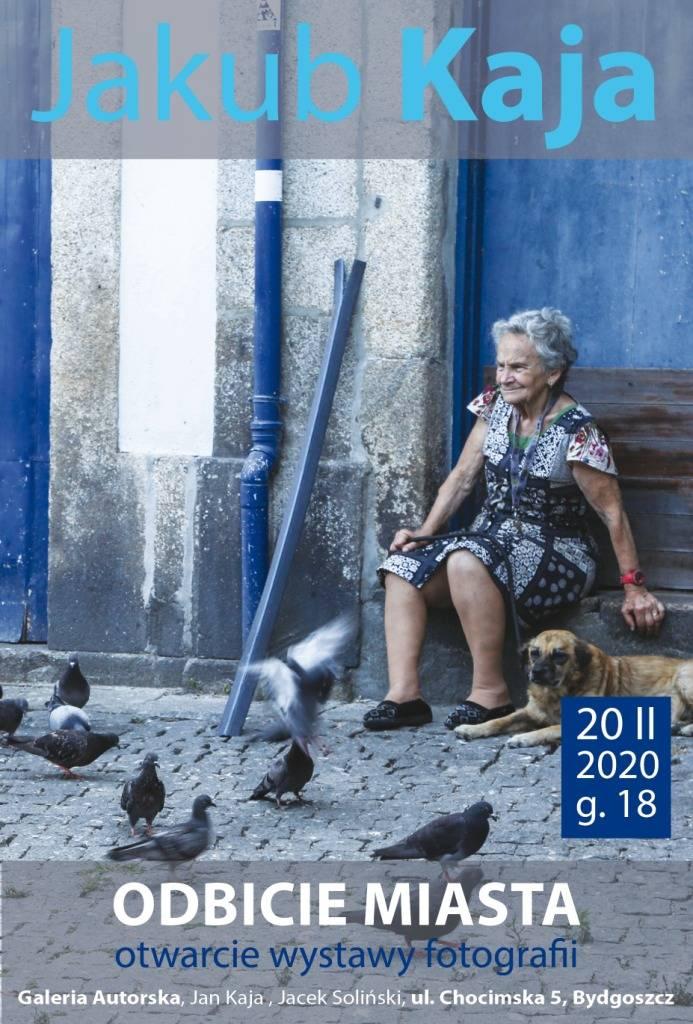 Otwarcie wystawy fotografii Jakuba Kaji pt. Odbicie MIASTA