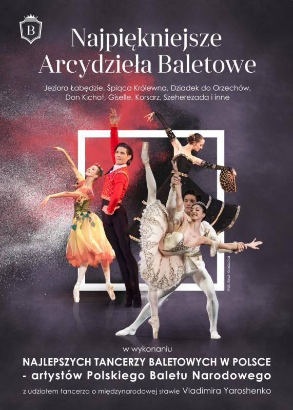 PRZEŁOŻONE Najpiękniejsze Arcydzieła Baletowe