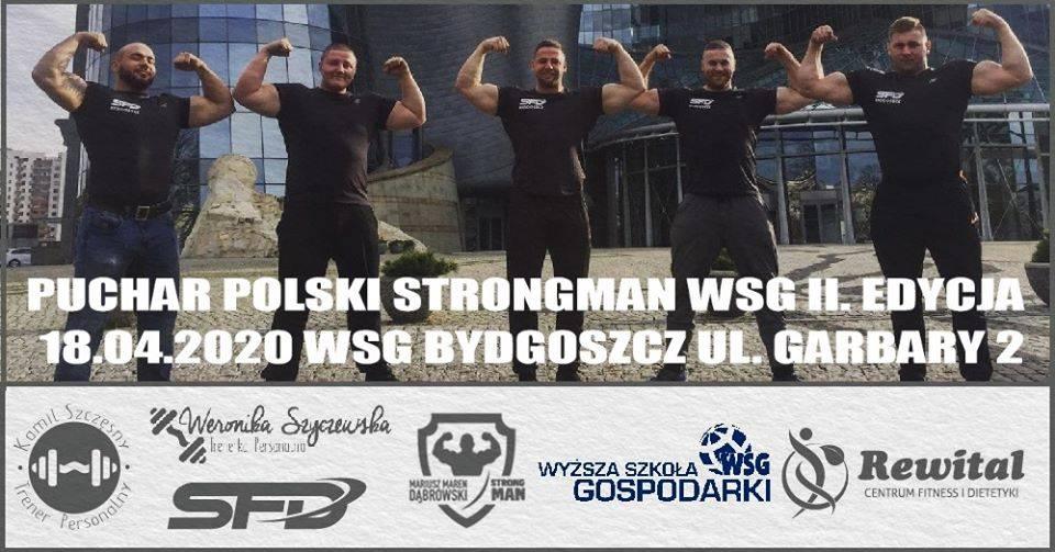 ODWOŁANE Puchar Polski Strongman WSG - II Edycja
