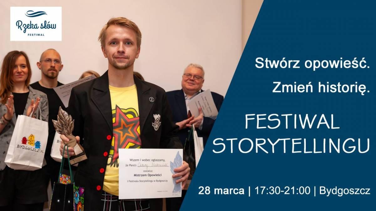 CANCELLED Festiwal Storytellingu