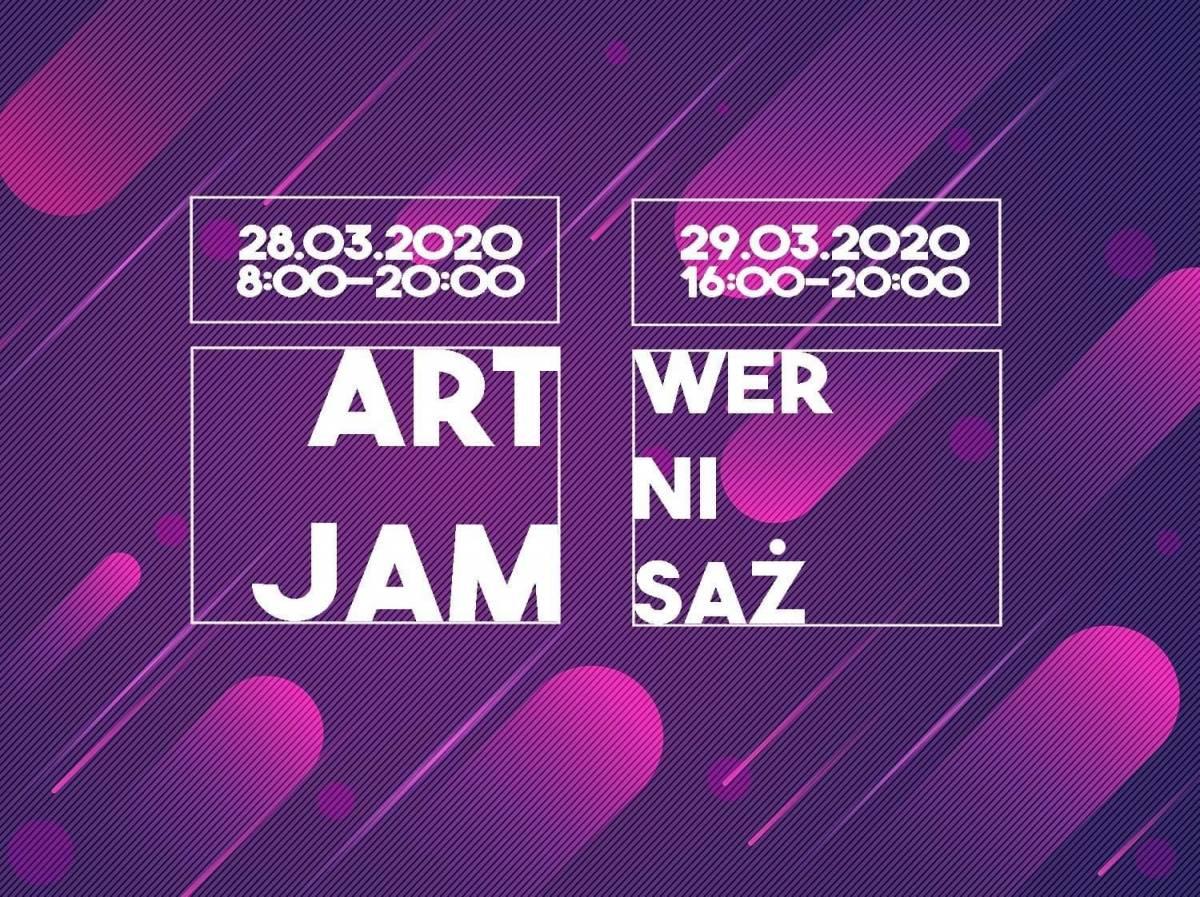 ODWOŁANE Art Jam - przypuszczalnie pierwsze takie wydarzenie dla twórców w Polsce