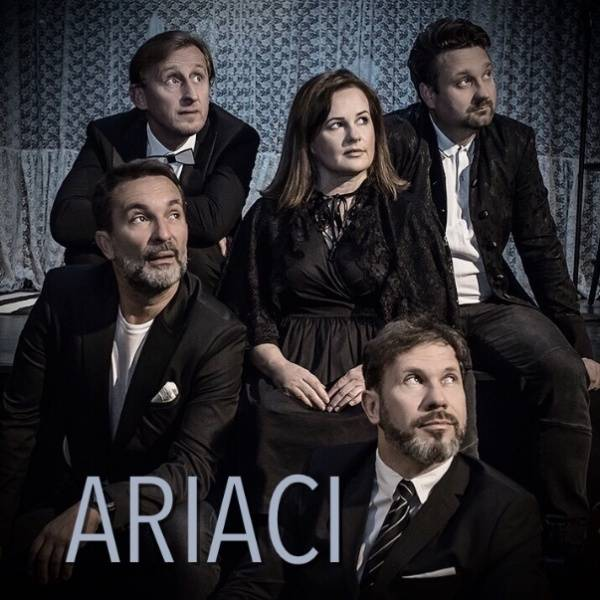 Kabaret Hrabi i Czesław Jakubiec w najnowszym programie - ARIACI