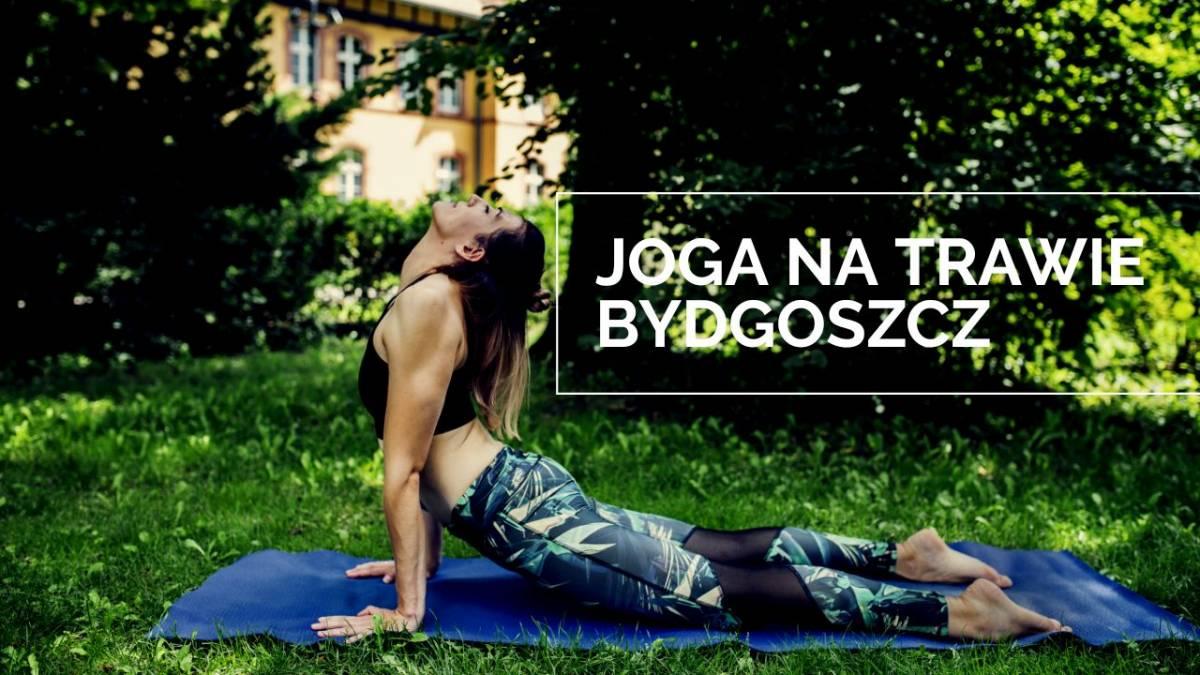 Joga na trawie - Bydgoszcz 2020