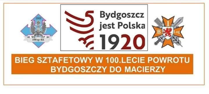 Bieg Sztafetowy z okazji 100lecia powrotu Bydgoszczy do Macierzy