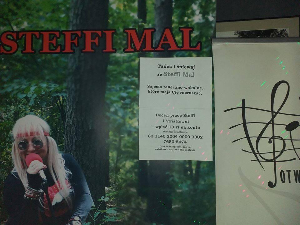 Wirtualne zajęcia taneczno-muzyczne z wokalistką Steffi Mal