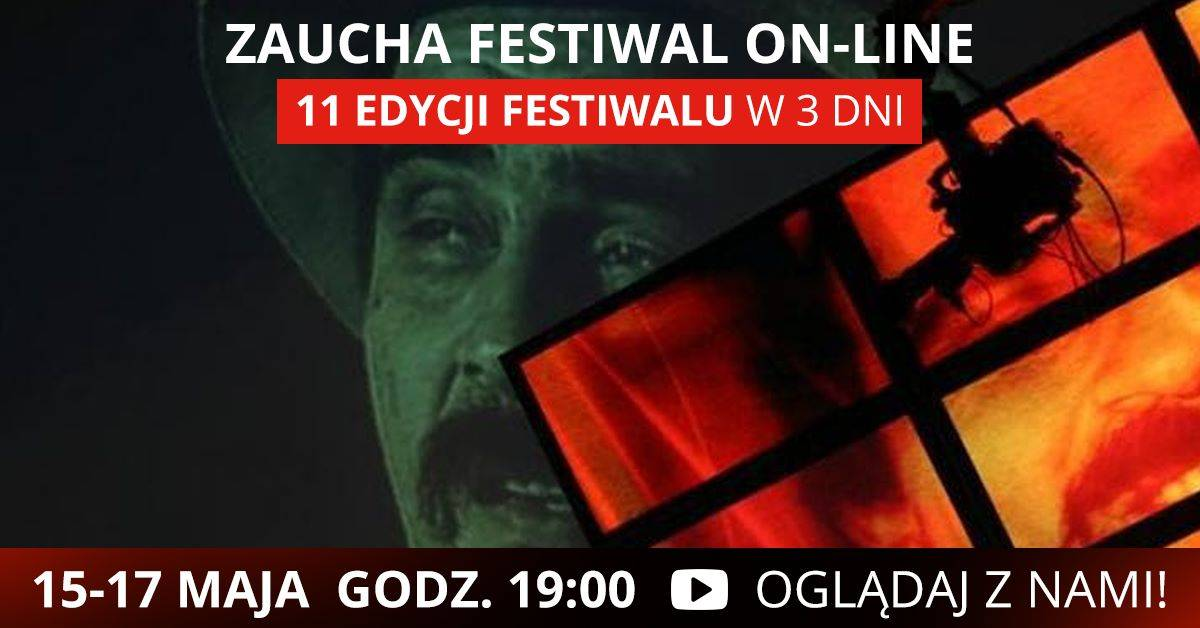 Zaucha Festiwal On-line - 11 edycji festiwalu w 3 dni