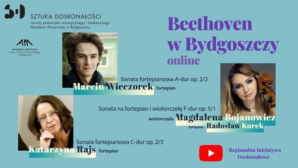 Streaming: Beethoven w Bydgoszczy / Beethoven in Bydgoszcz