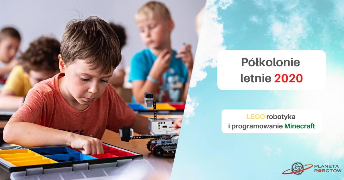 Półkolonie z Planetą Robotów - Bydgoszcz lato 2020