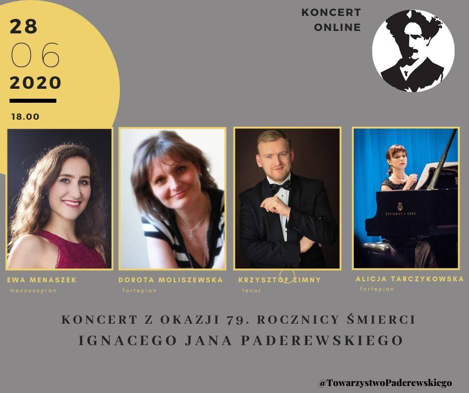 Streaming: Koncert z okazji 79. rocznicy śmierci Paderewskiego