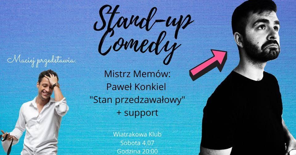 Stand-up Bydgoszcz: Paweł Konkiel