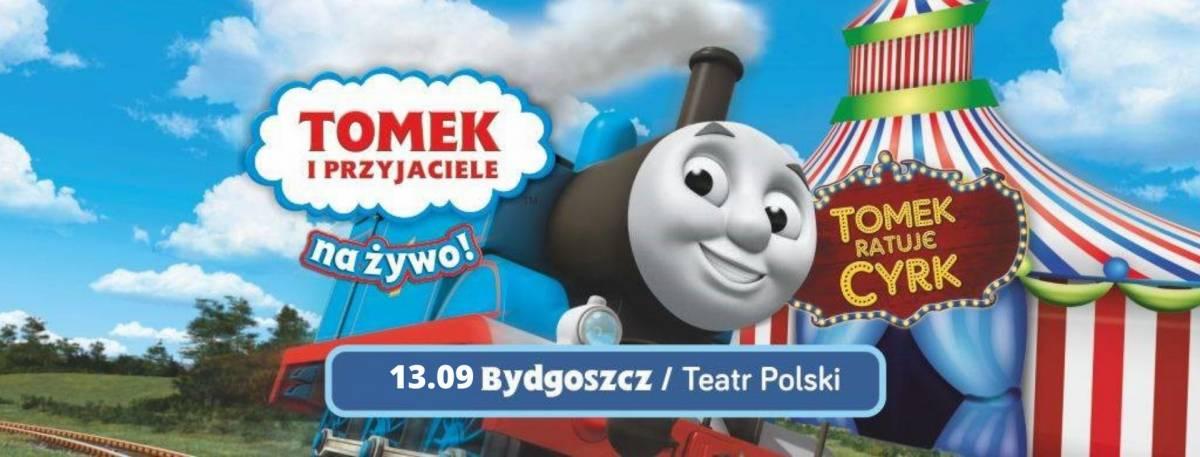 Tomek i Przyjaciele - Tomek Ratuje Cyrk