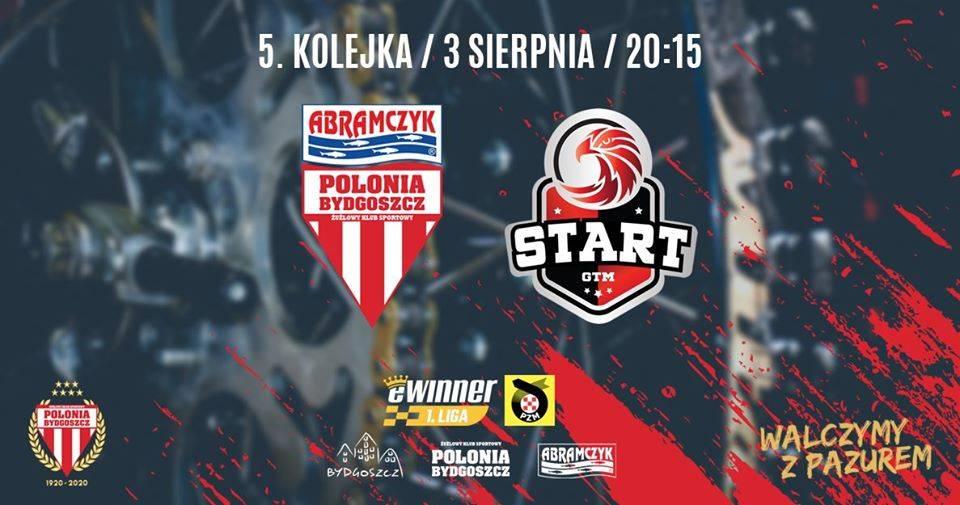 5 kolejka eWinner 1. Ligi Żużlowej: Abramczyk Polonia Bydgoszcz - Car Gwarant Kapi Meble Budex Start Gniezno