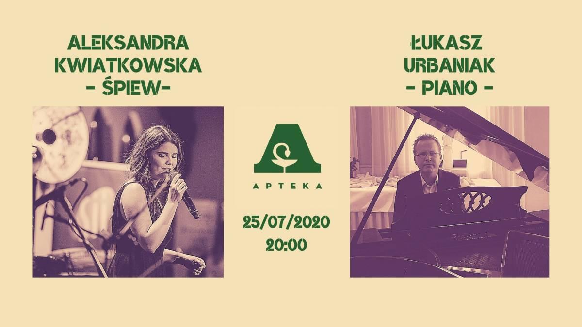 Poezja śpiewana Aleksandra Kwiatkowska i Łukasz Urbaniak