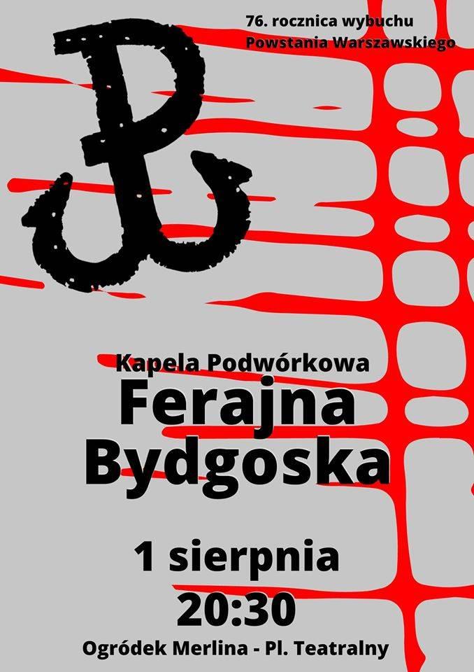 Koncert zespołu Ferajna Bydgoska