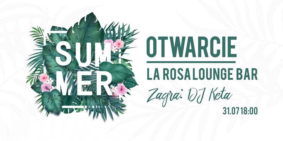 Otwarcie La Rosa Lounge Bar