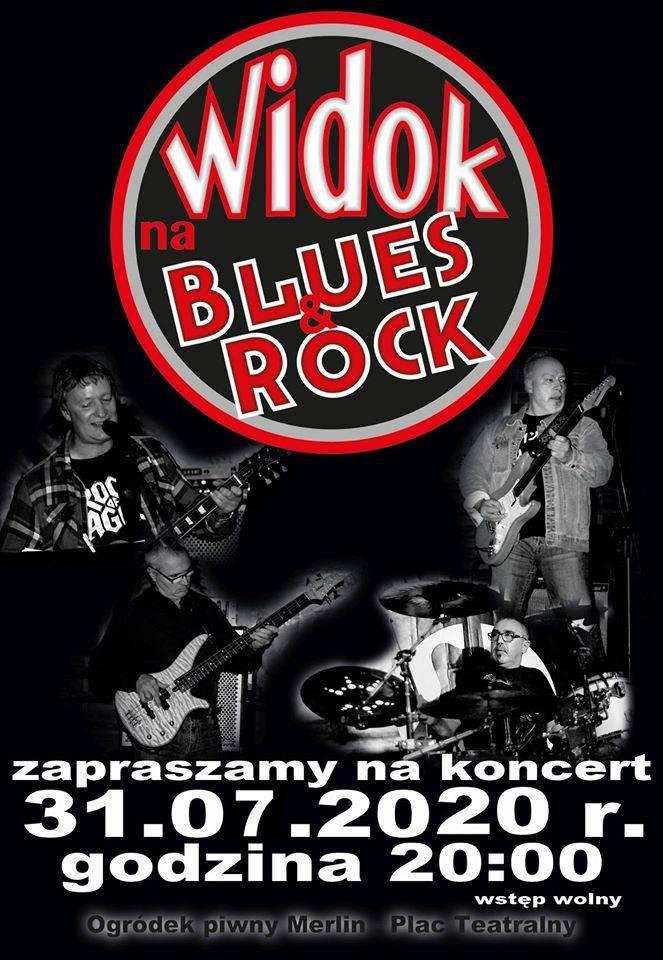 Koncert zespołu WIDOK NA BLUES&ROCK