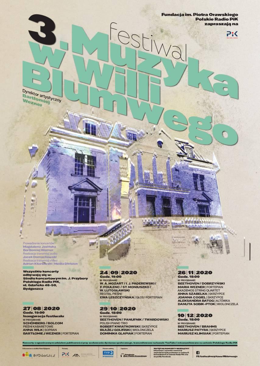 III Festiwal Muzyka w willi Blumwego