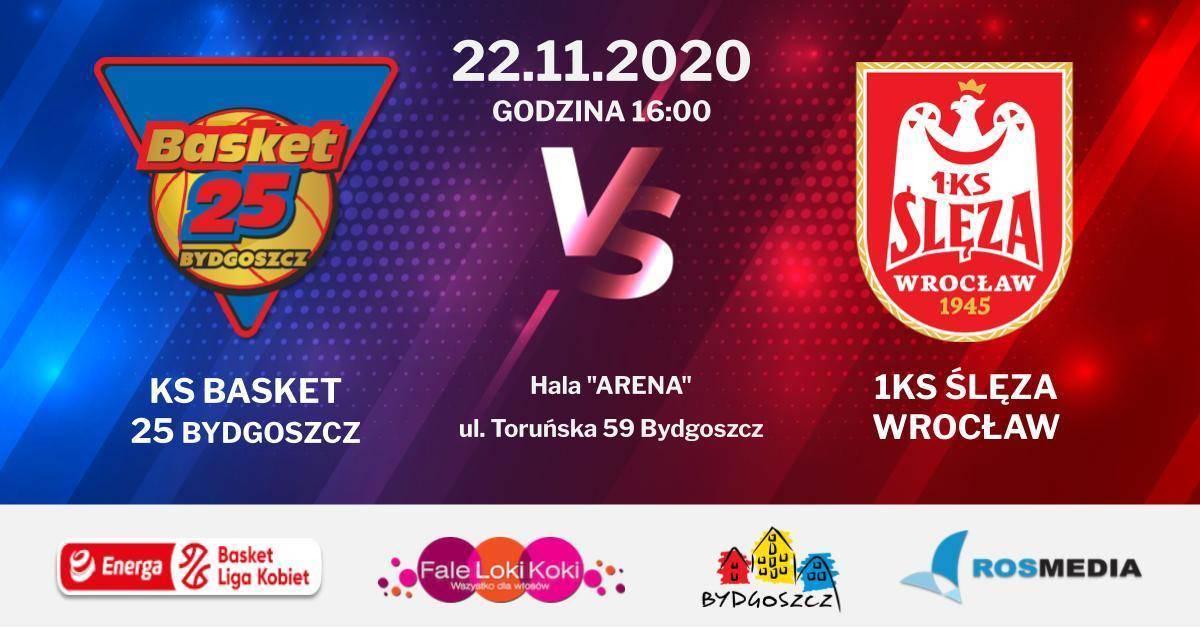 Mecz 8. kolejki Energa Basket Ligi Kobiet. KS Basket 25 Bydgoszcz vs 1KS Ślęza Wrocław