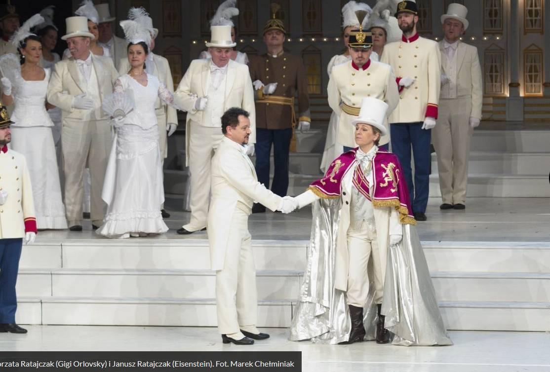 ZEMSTA NIETOPERZA (Die Fledermaus) - operetka