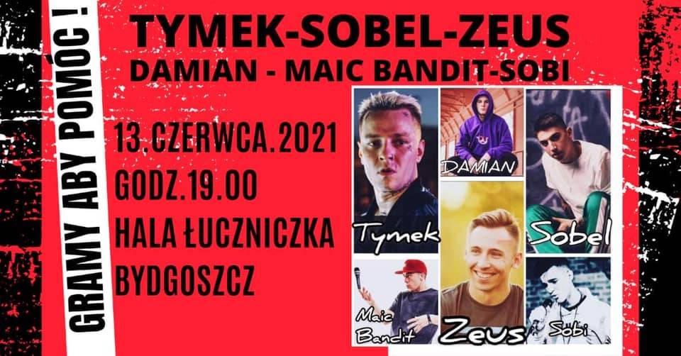 Koncert Gramy Aby Pomóc ! Hip Hop Music !