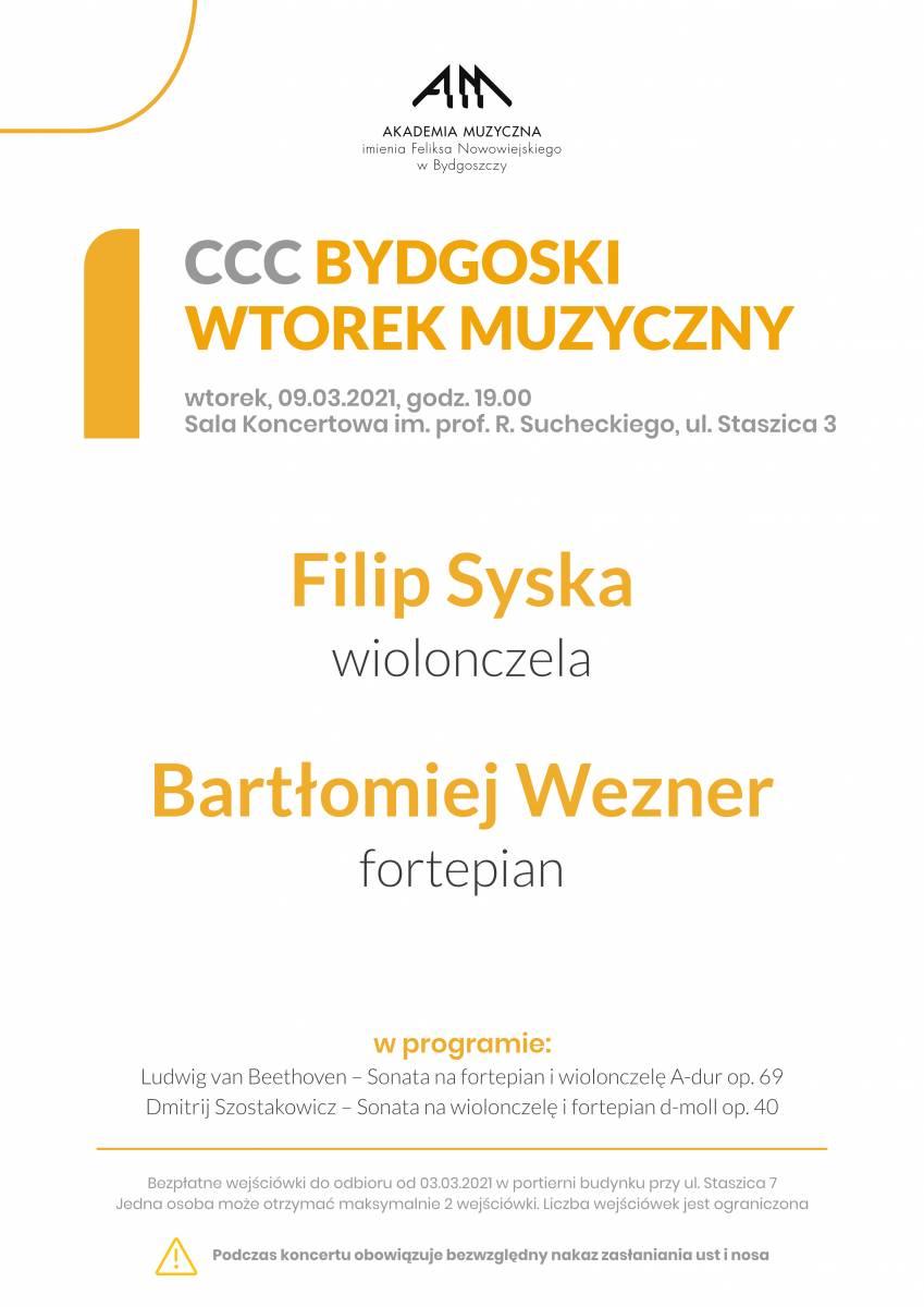 CCC BYDGOSKI WTOREK MUZYCZNY