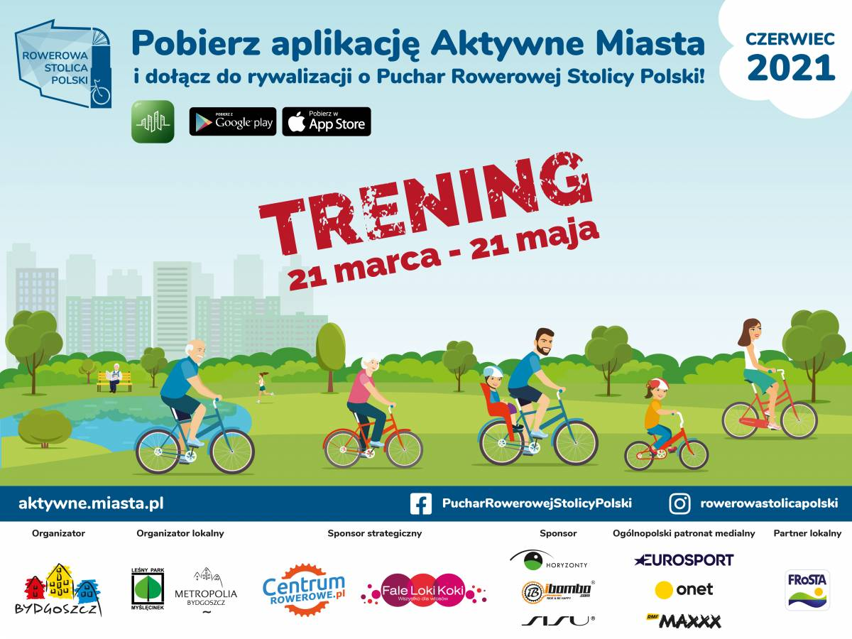 Rowerowa Stolica Polski - trening miast