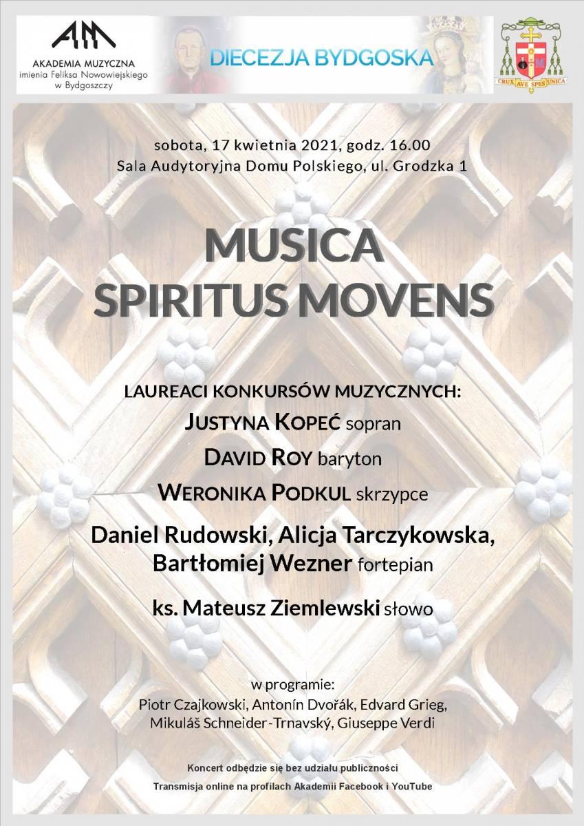 MUSICA SPIRITUS MOVENS - online