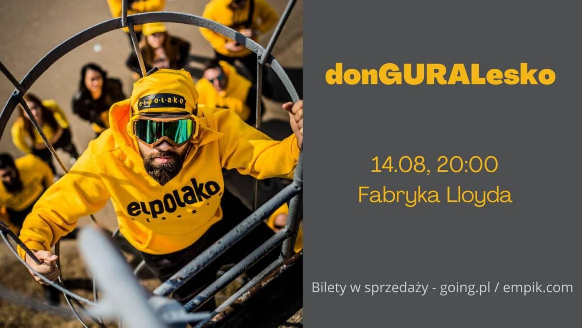 donGURALesko - koncert