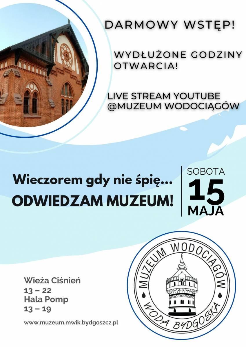 Międzynarodowy Dzień Muzeów - Muzeum Wodociągów