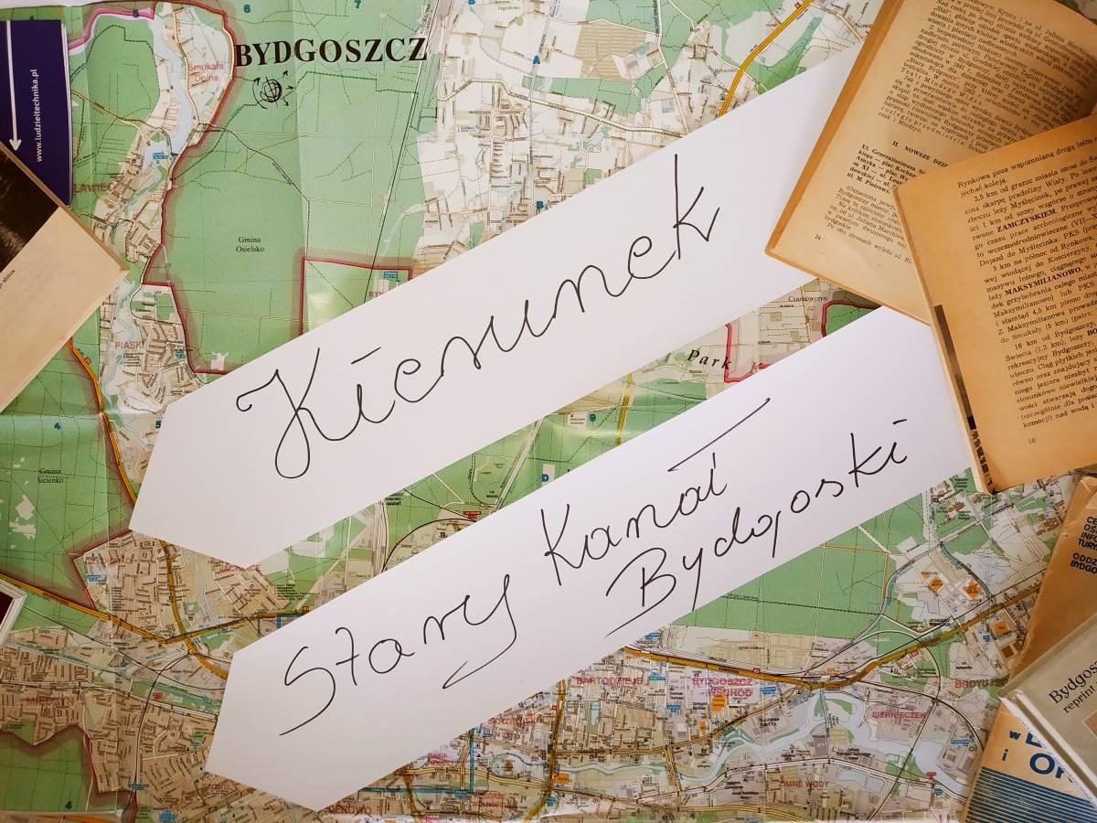 Kierunek Wycieczka - Stary Kanał Bydgoski