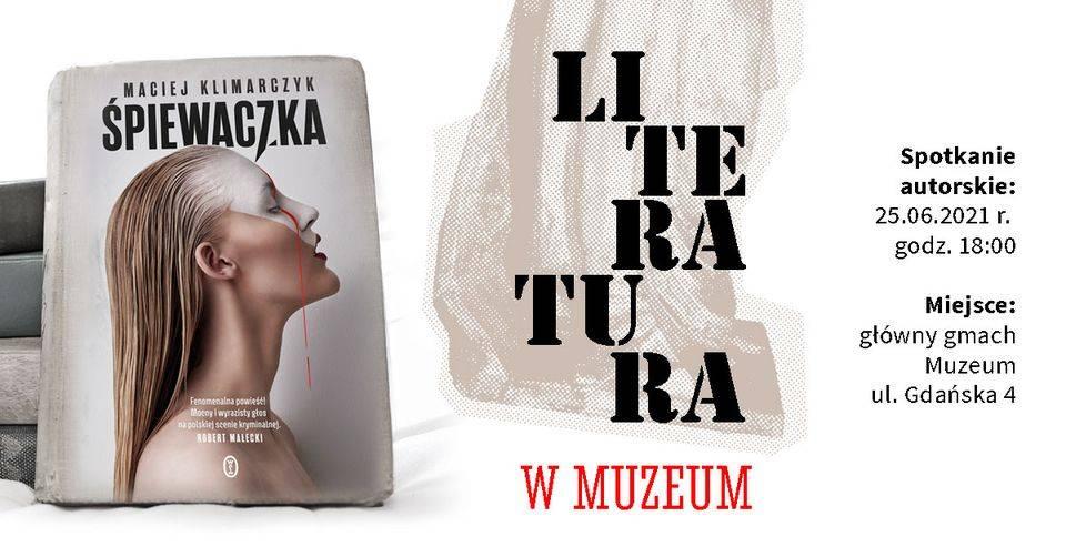 Śpiewaczka - spotkanie z autorem książki Maciejem Klimarczykiem