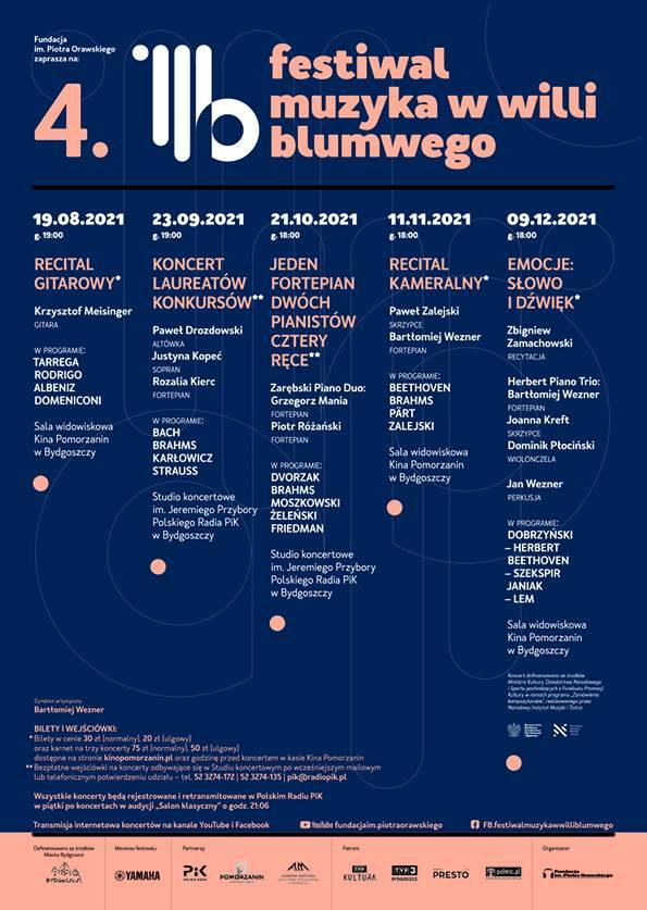 IV Festiwal Muzyka w Willi Blumwego