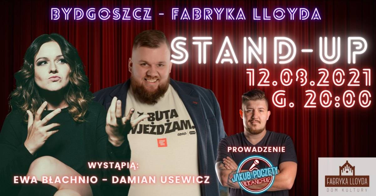 Fabryka Stand-upu Bydgoszcz: Ewa Błachnio, Damian
