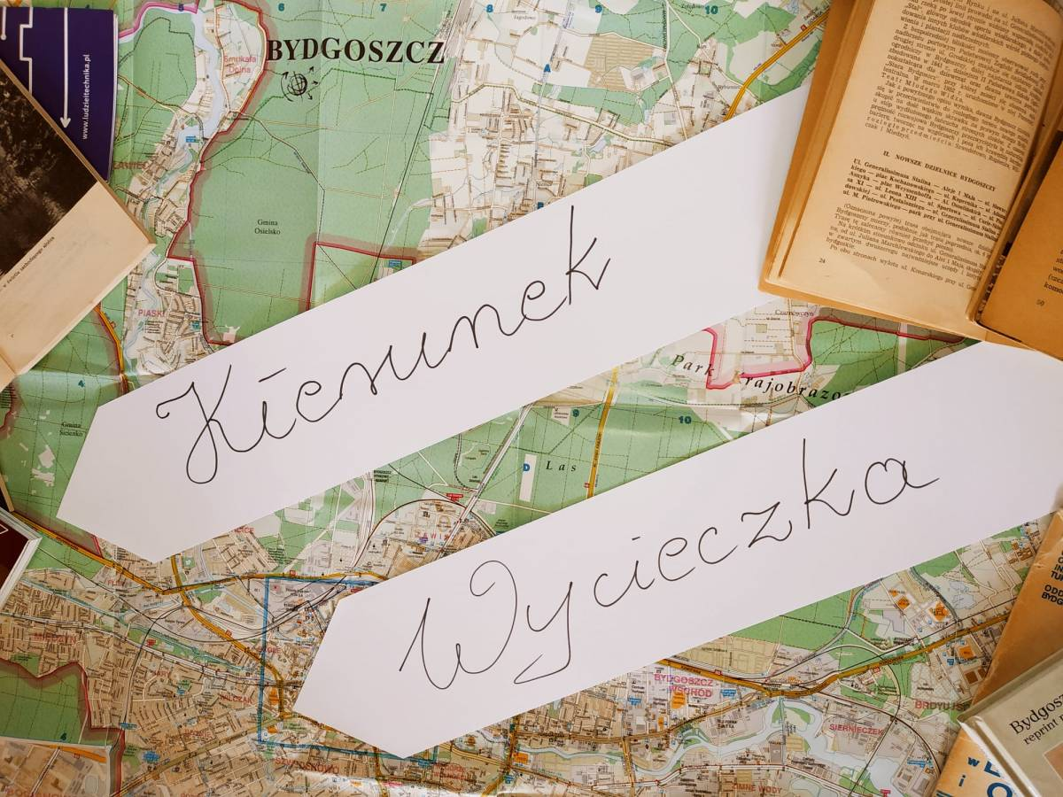 Kierunek Wycieczka - Gdańska, Śniadeckich, Dworcowa