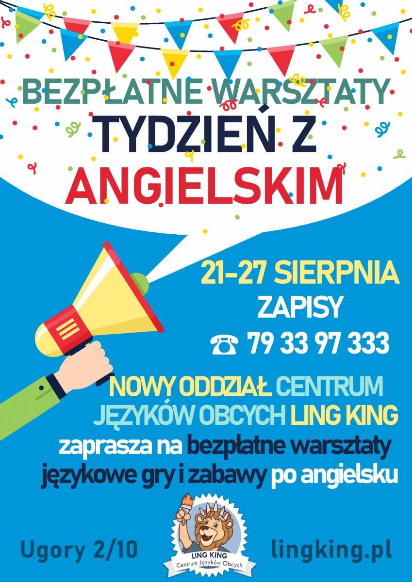 Tydzień z angielskim - warsztaty językowe dla dzieci