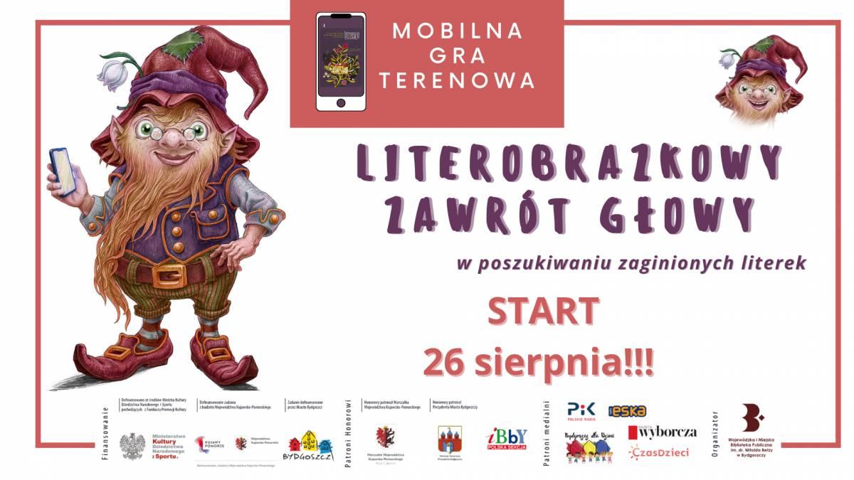 Festiwal LiterObrazki - Mobilna Gra Terenowa