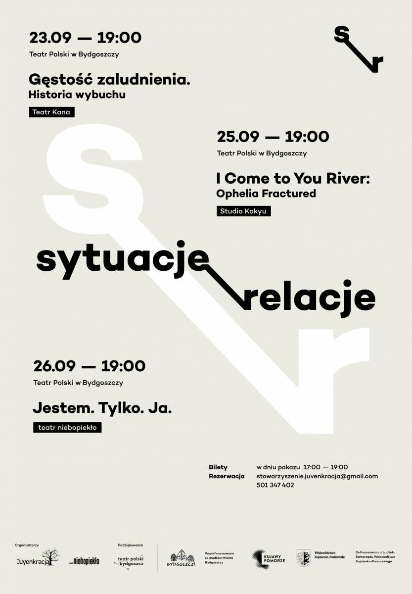 Festiwal Sytuacje/Relacje: Studio Kokyu - I Come To You River: Ophelia Fractured
