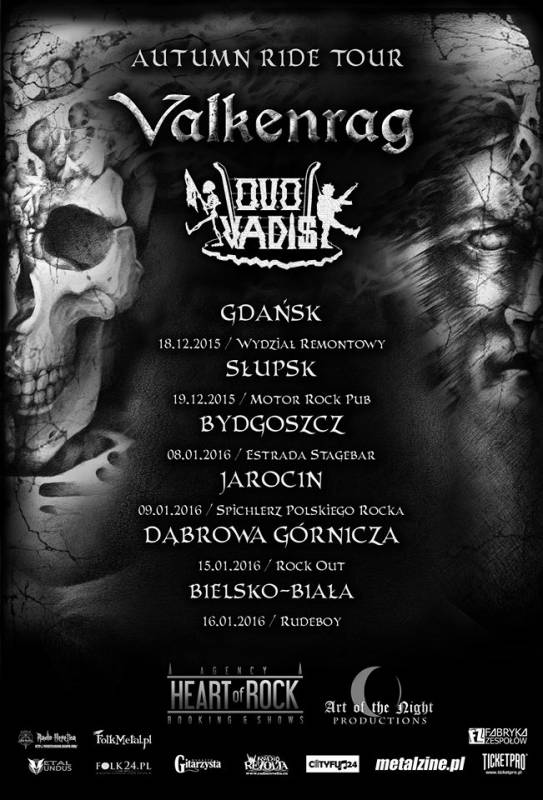 Quo Vadis/ Valkenrag/ North/ Mortis Dei