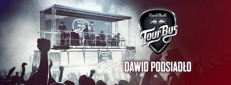 Red Bull Tour Bus: Dawid Podsiadło