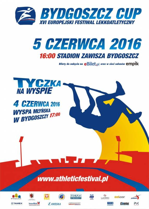 Bydgoszcz CUP- XVI Europejski Festiwal Lekkoatletyczny