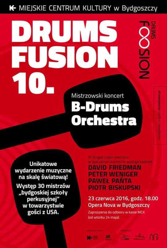 Drums Fusion - Jacek Pelc, Michał Urbaniak (URBANATOR) i  Quartet Manu Katche