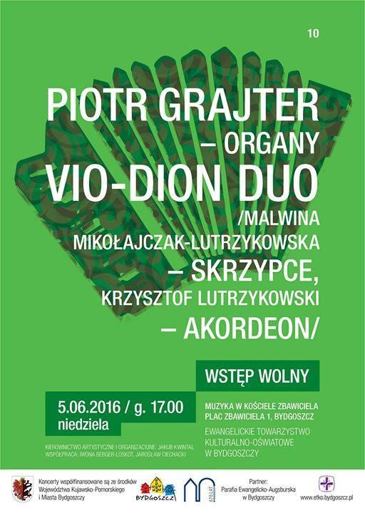 Muzyka w kościele Zbawiciela. Piotr Grajter oraz VIO-DION DUO