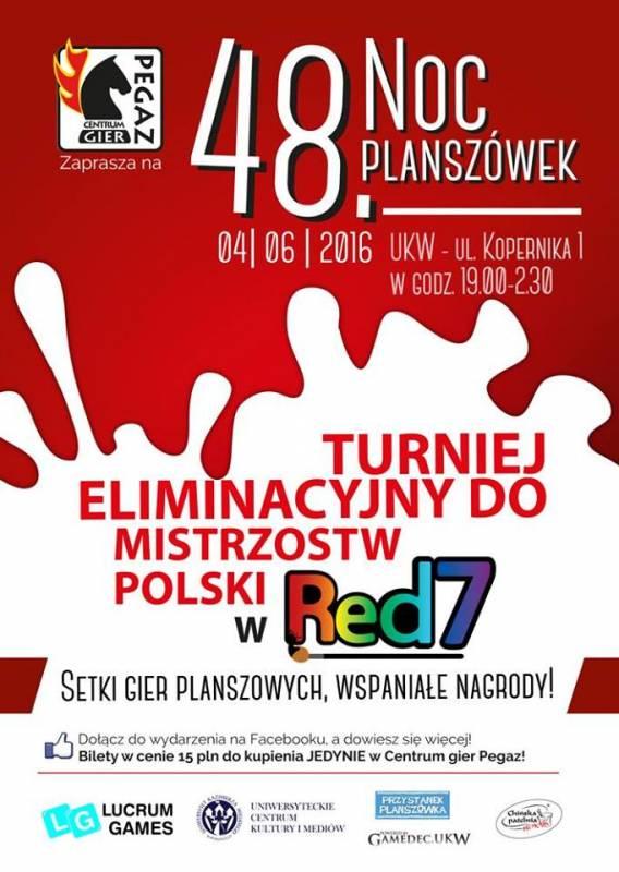 48 Noc Planszówek z Centrum gier Pegaz