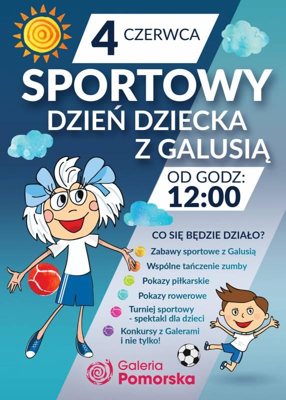 Sportowy Dzień Dziecka z Galusią