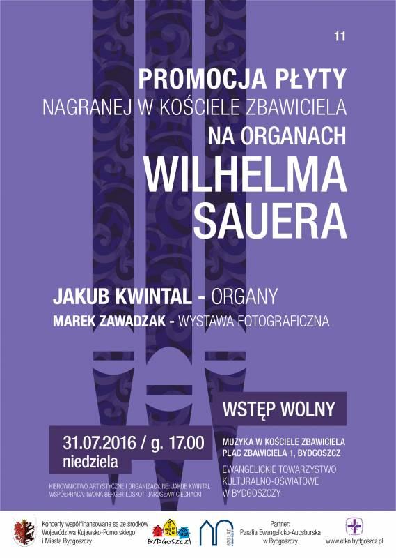 Muzyka w Kościele Zbawiciela - Koncert 11 - Jakub Kwintal