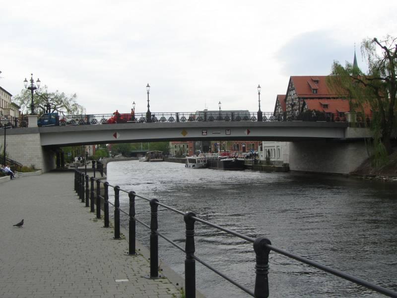Filmowa Blokada Mostu Staromiejskiego