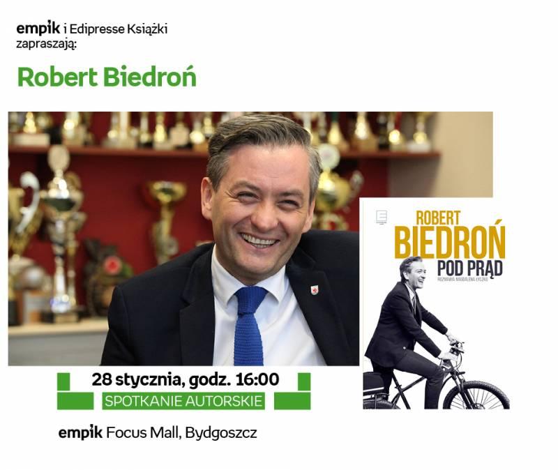 Spotkanie autorskie z Robertem Biedroniem